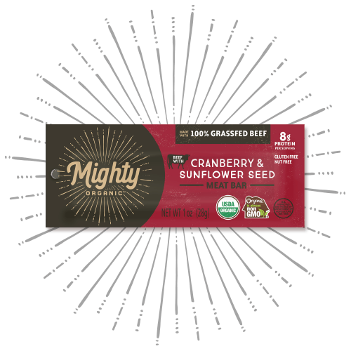 Mighty Bar Cranberry & Sunflower Seed