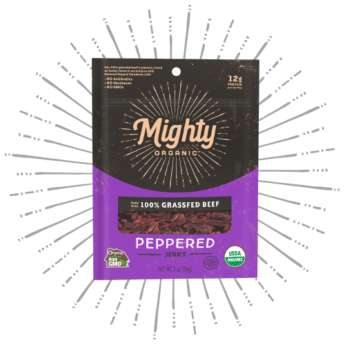 Mighty Jerky Peppered