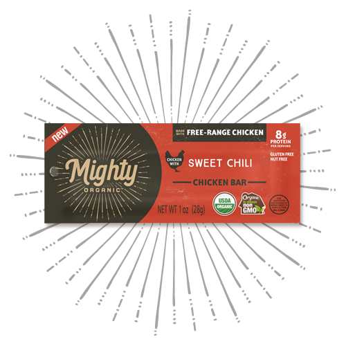 New! Mighty Bar Sweet Chili