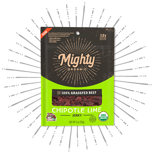 Mighty Jerky Chipotle Lime