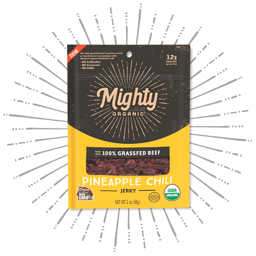Mighty Jerky Pineapple Chili